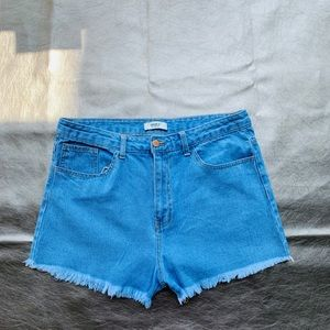 Indescribable denim jeans shorts